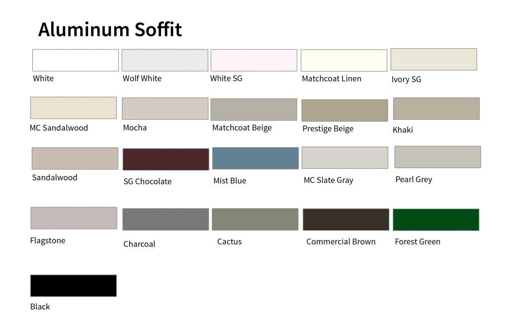 Kaycan Colors Aluminum Soffit Reynoldsbros Ca
